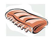 Kød clipart og illustrationer