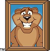 Gemälde clipart  Cougar (Page 2) - stock illustration clip art. Buy royalty free ...