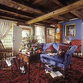 stock bilder fenster treatments spitze tabulator oberseite vorh nge dunkel befleckt. Black Bedroom Furniture Sets. Home Design Ideas