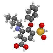 Banque d'Illustrations - Acetazolamide, diurétique, drogue