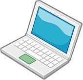 Clipart of logo, notebook, notebook computer, laptop, computer ...