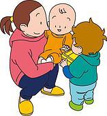Babysitter Illustrations and Stock Art. 95 babysitter ...