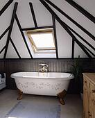 Picture Of Traditional Cream Bathroom With Painted Wooden