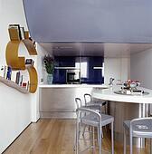 stock fotografie rostfreier stahl american style. Black Bedroom Furniture Sets. Home Design Ideas